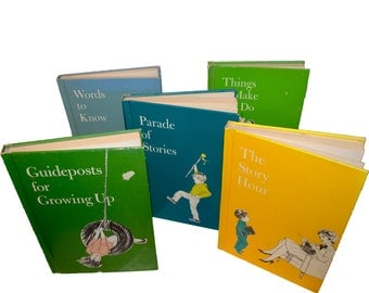 Hardcover Children's Child's Horizons Books Guideposts for Growing Up The Story Hour Parade of Stories Words to Know