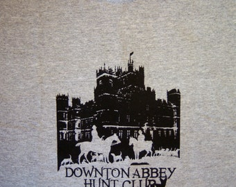 Downton Abbey Hunt Club T-shirt