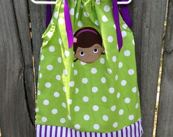 Little Doc McStuffin dress size 18 months up to size 14