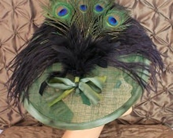 emerald headpiece