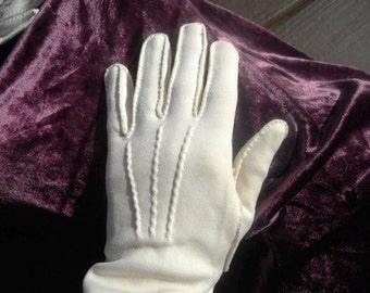 Soft Cotton Vintage Gloves