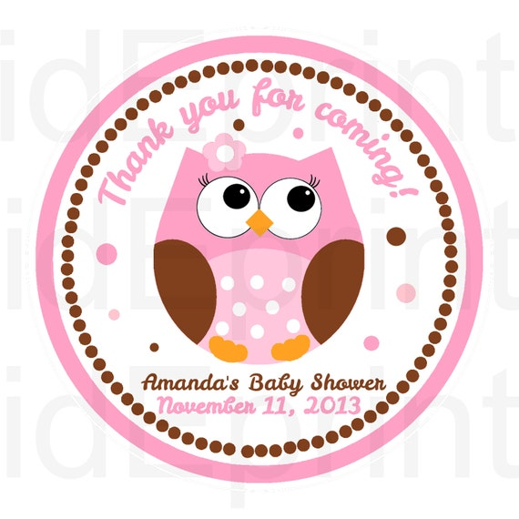 Owl Baby Shower Supplies: Unavailable Listing On Etsy