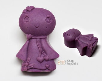 Sweet  doll  Silicone Soap Mold ( Soap Republic )