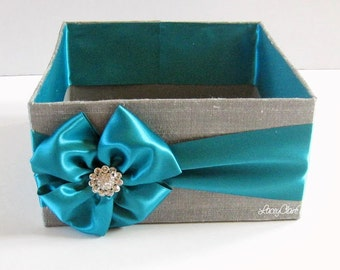 Program and Amenities Box, Bubble Box, Centerpiece, Favor Box, - Custom Made to your colors