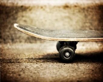 Vintage Skateboard Close Photo Print, Skate board room, Wall Decor, Wall Art,  Kids Room, Skateboard decor