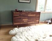 6 Drawer Walnut Dresser