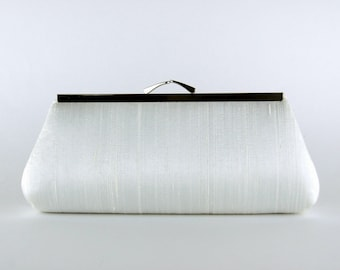 Silk Clutch, wedding clutch, wedding bag, bridesmaid clutch, Bridal clutch, Purse for wedding