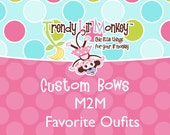Spring M2M Boutique Hair Bow for Girls