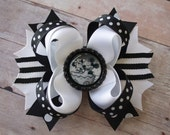 Simply Black & White Birthday Hair Accessory for Girls