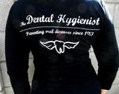 Dental Hygienist Hoodie in Black