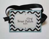 Candy Buffet Labels - Dessert Tags - Chevron Labels - Chevron Candy Buffet - Candy Labels - Chevron Wedding - Food Labels