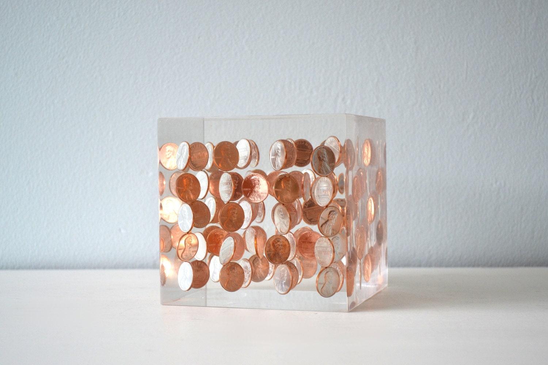 CUSTOM MADE coin bowl, metal sculpture, metal bowl, ornament | Metal ... for Clear Resin Sculpture  70ref