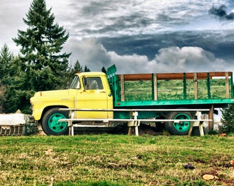 The Old Yellow Truck