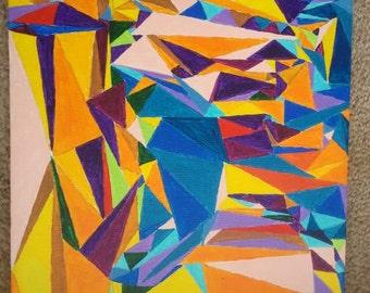 Cubism Millennium Park at Dusk
