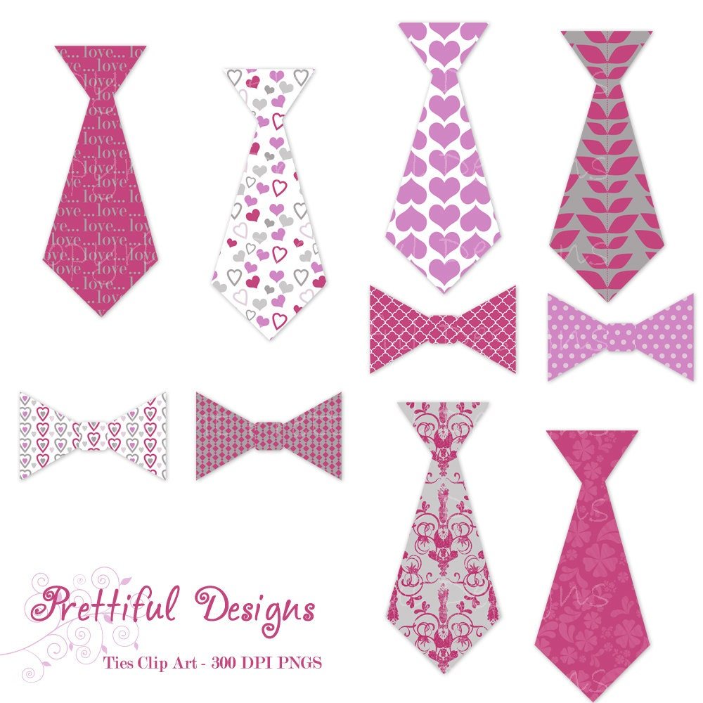Pink Tie Clip Art Bow Tie Clipart Commercial Use