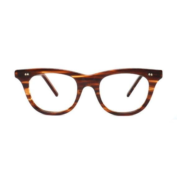 50s brown Vintage Eyeglasses mad men by MODvintageshop on ...