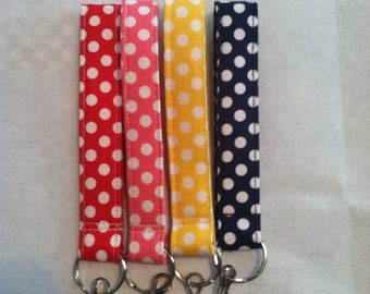PDF Pattern for Fabric Wristlet with Snap Hook key Chain