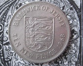Bailiwick of Jersey Coin 1968 Ten New Pence