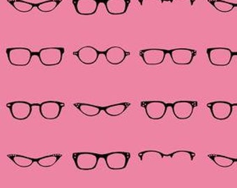 Geekly Glasses Geekly Chic Hot Pink Dorothy Tsang for Riley Blake 9 Inches