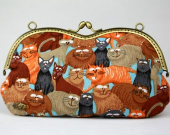 Glasses Case Cats