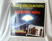 close encounters sci fi postcard book with 48 post cards 70s