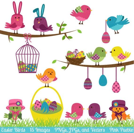 Easter Birds Clipart Clip Art Easter Spring Birds Clip Art