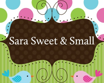 Sara Sweet and Small Get Your Order Faster (Rush Order)