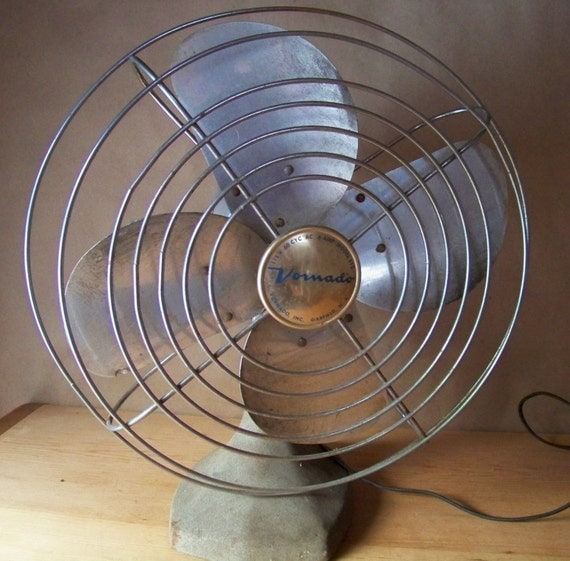 Vintage Wall Mounted Fans : Vintage vornado electric table fan or wall mount model