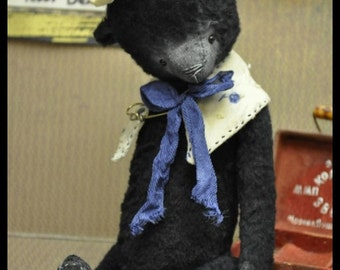 Sewing Pattern for 7 Inch Vintage Bear PDF