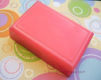 Single Soap Bar, 4 oz Size, Bath Soap, You pick the scent and shape