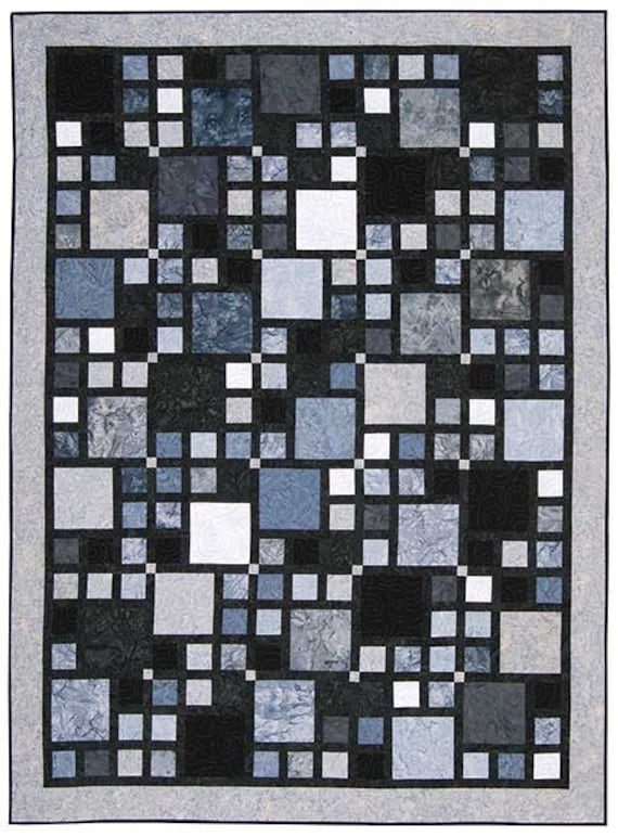 Quilt Patterns For A Man : Walk in the City Quilt Pattern by Elisa s Backporch