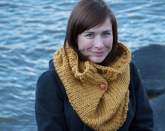 Knitting Pattern XL Cowl - Easy/Intermediate