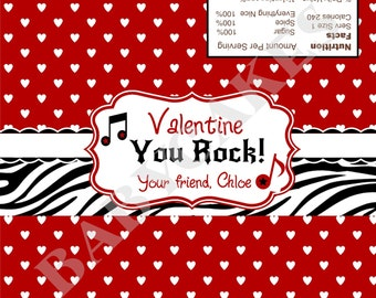 Valentine candy deals on 1001 blocks for Valentine candy bar wrapper templates