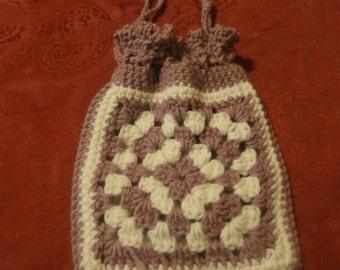 crochet child purse, back to school