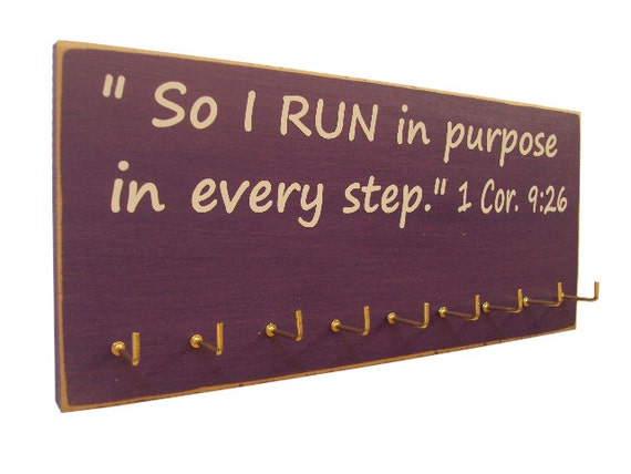 inspirational sports quotes running medals by