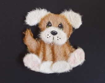 Oliver the Dog Tear Bear Paper Piecing Baby  Scrapbooking Embellishment by Lisa