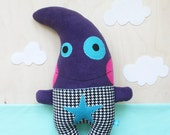 Groggle the Purple Monster Plush - RESERVED for sweetdreamzalone