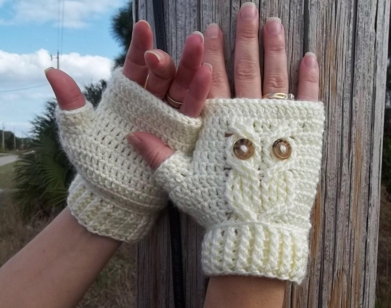 Fingerless Gloves Crochet Pattern With Flap - Gloves