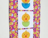 Quilted Wall Hanging - Easter Chicks