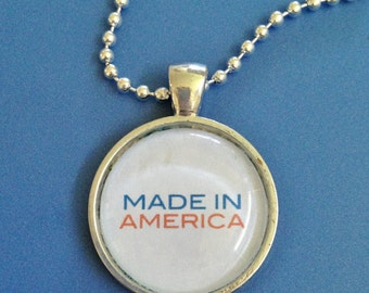 Made in America Pendant Necklace