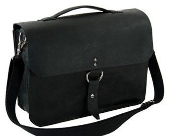 "14"" Black Newtown Midtown Laptop Bag"