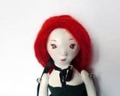 Petite Margot OOAK paper clay doll