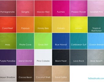6 Bamboo Felt  20 x 22 in. Sheets - Your Choice of Colors