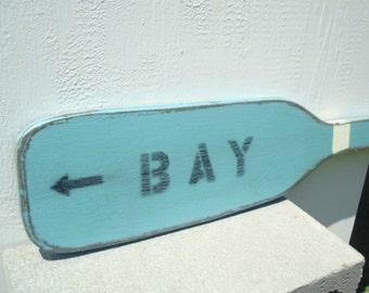 BAY boat oar wood paddle