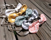 Fabric Knot Twist Bow Baby Headband - Marina Collection - Pick One
