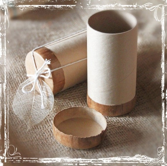 Wedding Gift Paper: Kraft Paper Tube Wedding Favor Packaging By Sparkleandposy