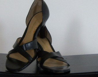 Vintage Black Leather Sandal Heel Naturalizer 7N Online Vintage Vintage Clothing Vintage Dress Home Accents Vintage Online