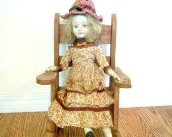Vintage Porcelain Walda Doll Celebrating 5 Years On Etsy