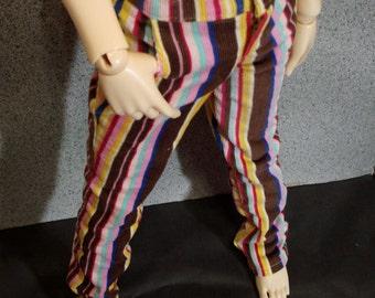 60cm BJD SD13 Bright Stripe Pants