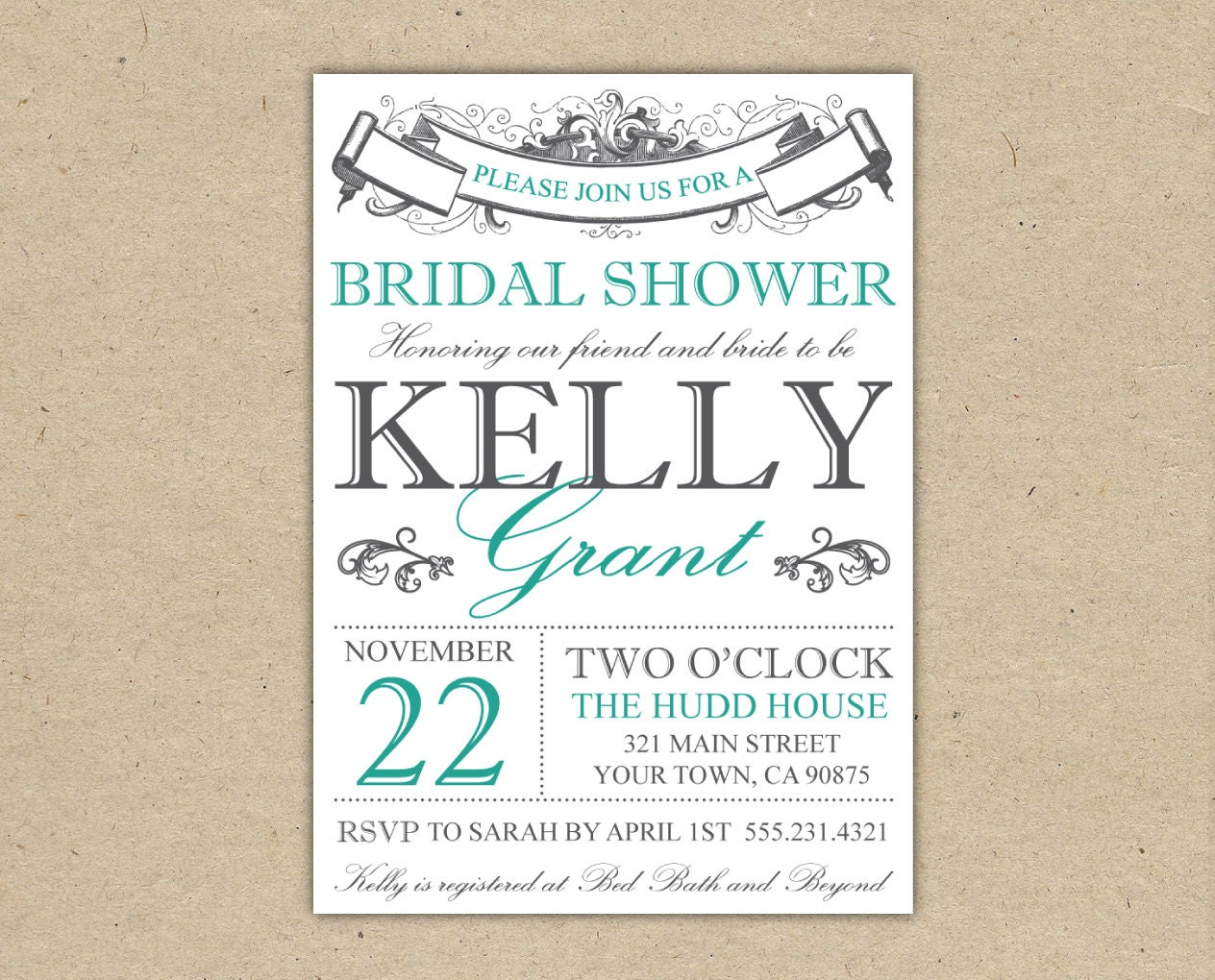 Free Printable Wedding Shower Invitations absolutely amazing ideas for your invitation example